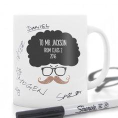 Personalised Male Teacher Message Mug