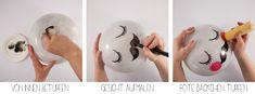 Personnalisez vos lampes IKEA en jolie lune, en adorable chat, en mignon lapin ! Tout est possible !