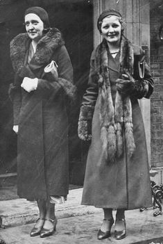 couple of ladies, on the outing, 1932