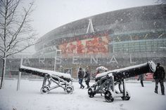 Arsenal FC news: Snow covers Emirates and 'Beast from the East' could postpone Man City Premier League game But Football, Arsenal Football, Football Stadiums, Football Match, Arsenal Players, Arsenal Fc, Premier League, Theo Walcott, Beast From The East