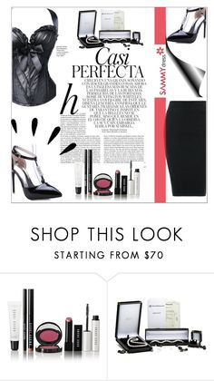 """""""Black black black!"""" by ena-ena ❤ liked on Polyvore featuring Whiteley, Bobbi Brown Cosmetics and Old Navy"""