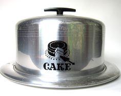 Vintage 1950's West Bend Cake Saver