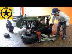 Mini Jeep, Custom Golf Carts, Armor Concept, Kids Ride On, Pedal Cars, Go Kart, Little Boys, Monster Trucks, Jeeps