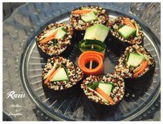 Raw Vegan Quinoia Sushi