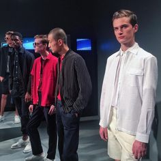 After being under discussion for more than a few seasons, the Council of Fashion Designers of America launched its inaugural New York Men's Fashion Week running July through the Timo Weiland, New York Mens, Mens Fashion Week, Spring 2016, Chef Jackets, Product Launch, Menswear, Fashion Design, Collection