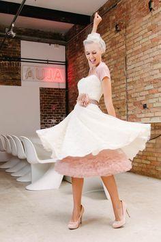 kurze Brautkleider – für Standesamt und Kirche · küss die braut