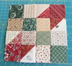 Christmas Star Quilt tutorial