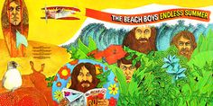 Music - The Beach Boys - Endless Summer (1974) Full Album Cover