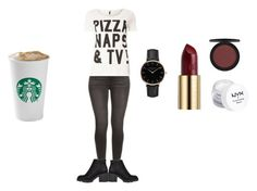 """""""Untitled #292"""" by emily-templeton ❤ liked on Polyvore featuring Dorothy Perkins, River Island, Topshop, Urban Decay and NYX"""
