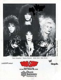 """Vinnie Vincent Invasion.  The first word that comes to mind is """"Yikes."""" (That's Mark Slaughter on the left and Dana Strum on the right.)"""