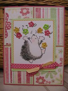 penny black hedgehog cards | Penny Black