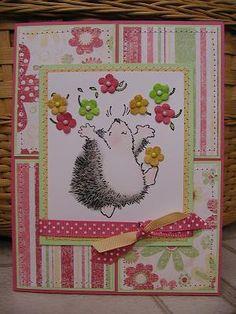 penny black hedgehog cards | Penny Black