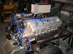 Ford GAA V8 (all aluminum 1100 cubic inch from WWII Sherman Tank)