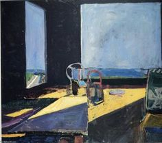 Painting Landscape Abstract Richard Diebenkorn 48 New Ideas Richard Diebenkorn, Jasper Johns, Landscape Art, Landscape Paintings, Landscapes, Bay Area Figurative Movement, Painting Quotes, Process Art, Art Mural