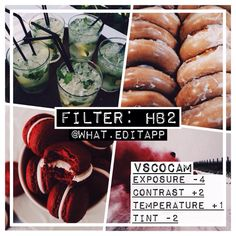 """filter acc!! on Instagram: """"#weafree ❕ hb2 is one of my FAV filters!!  this is amazing for a colourful feed, because colours stand out in the picture!! Also looks good with some fade added {but that's optional} comment wanted filters """""""
