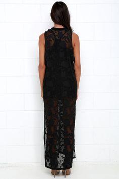 Gentle Fawn Tower Black Sleeveless Maxi Dress at Lulus.com!