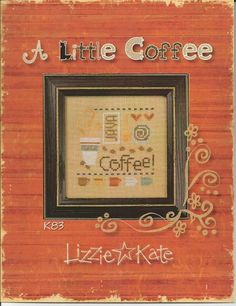 LIZZIE KATE: A Little Coffee  K83  by NeedleCaseGoodies on Etsy