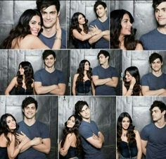 Siblings love  Alec and Isabelle Lightwood A.K.A Matthew Daddario and Emeraude Toubia