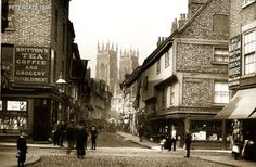 HERE'S a New Year treat for you - a selection of wonderful old postcards of York showing scenes from more than 100 years ago. York Uk, Building Images, Memories Photography, Interesting History, North Yorkshire, Old Buildings, Old Postcards, Ancestry, Black And White Photography
