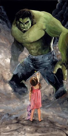 8 hour Hulk by ~RobHough on deviantART
