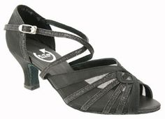 RotateUK.com. Amy - 2.25 inch heel - black satin/ sparkle Black Satin, Black Heels, Salsa, Amy, Sparkle, Wedges, Sandals, Shoes, Fashion