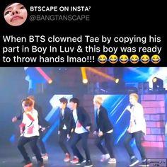Bts Taehyung, Bts Bangtan Boy, Jimin, Bts Memes Hilarious, Bts Funny Videos, Kpop, S Videos, Bts Bulletproof, Bts Facts