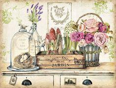 Obraz na plátně-jardin - zvětšit obrázek