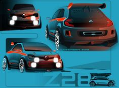 Renault Twin'Run Concept - Design Gallery