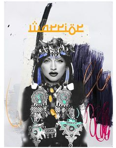Madonna is A Warrior - Ghita Benlamlih, le pop art à la marocaine - Elle