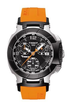Tissot | Women's T-Race Chronograph Watch, 36mm | Nordstrom Rack Sport Watches, Cool Watches, Watches For Men, Tissot T Race, Android Watch, Black Quartz, Elegant Watches, Rolex Submariner, Orange