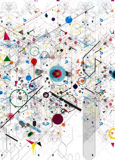 Visual Chaos by Diego Belloring. Seen on Behance where you can also order some prints.