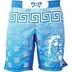 MyHouse Sublimated Greece Wrestling Fight Short