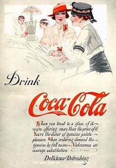 *COCA-COLA ~ 1915
