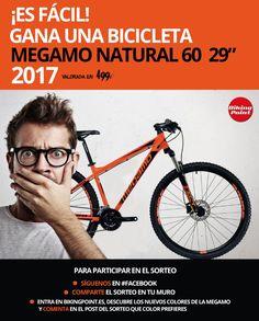 ¿Quieres ganar una bicicleta de mountain bike 2017?