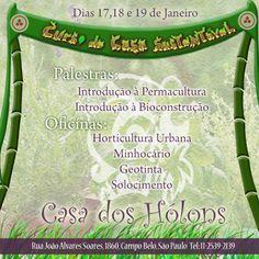Casa Sustentável, Casa dos Holons, São Paulo-SP - Rede PSB