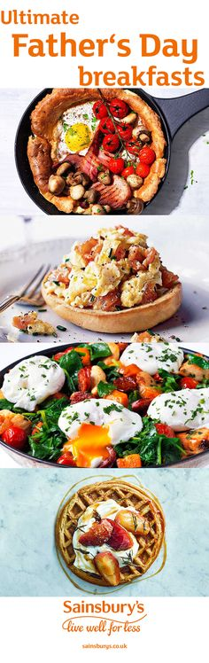 #FathersDay #MakeForDad #Burgers #SainsburysRecipes #Crumpets #UlitimateBreakfasts#Eggs #Breakfast