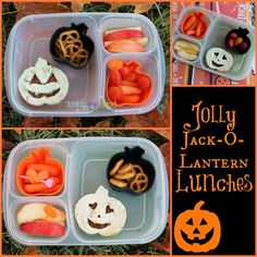 Jolly Jack-o-lantern Lunches!