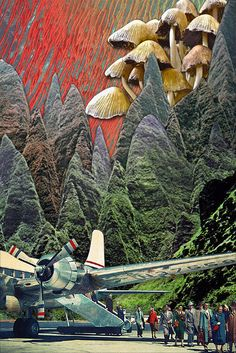 Farscapes - Eugenia's Collages http://cargocollective.com/eugenialoli/Farscapes