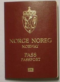 Det Norske passet, det viser til alle og en hver at denne person er Norsk statsborger.