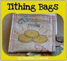 Tithing bag tutorial