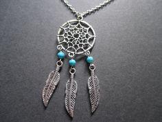 Silver Dreamcatcher necklace NEW – UK Seller – boho, festival
