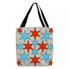 Red and Blue Stars P