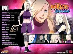 Naruto Shippuden Poster (Ino).(1024×768)
