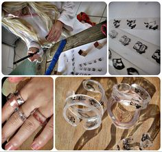 bagues en plastique fou (à retrouver chez creactivités : http://www.creactivites.com/47-plastique-fou-ou-plastique-dingue-activites-manuelles-enfants)