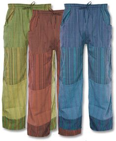 Soul Flower - Puttin' on the Jams Patch Pants - $28.00