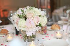 ... mariage gris et rose  Photo Decorations, Mariage and Table