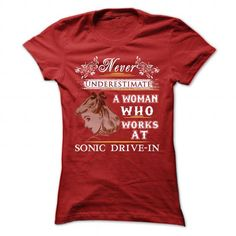 Works At Sonic Drive In T Shirts, Hoodies. Get it here ==► https://www.sunfrog.com/LifeStyle/Works-At-Sonic-Drive-In-Ladies.html?57074 $21.99