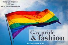 Hoy en @trendstudiofm nuestro tema será dedicado al #GayPride & #Fashion  Acompáñennos a platicar junto al maquillista @rickymina1000.  En la sección #FashionStalking tendremos la visita de @expresselsalvador . Los esperamos en punto de las 7:00pm en @femenina1025