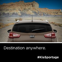Get away with the Kia Sportage.