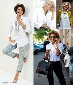 Одежда женщины 40-45 лет - стильные фото образы   mode   Fashion ... a5c8652aee5